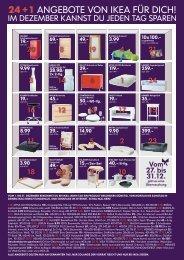 24 +1 ANGEBOTE VON IKEA FÃœR DICH!