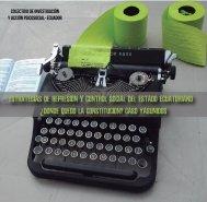 ESTRATEGIAS DE REPRESIÓN Y CONTROL SOCIAL DEL ESTADO ECUATORIANO