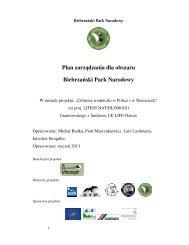 Plan zarządzania dla obszaru Biebrzański Park Narodowy
