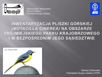 Dariusz Ożarowski Trójmiejska Grupa Lokalna OTOP