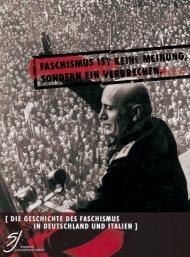 Faschismus in Deutschland und Italien - Netzwerk gegen Rechts!