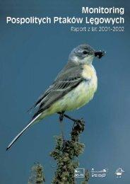 Monitoring Pospolitych Ptaków L´gowych