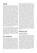 Monitoring Pospolitych Ptaków L´gowych - Page 5