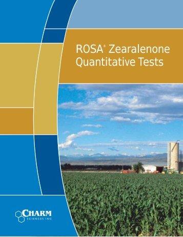 ROSA Zearalenone Quantitative Tests