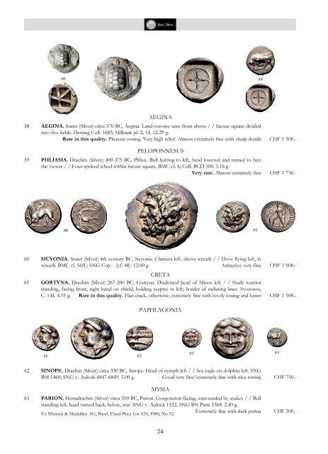 MÜNZEN UND MEDAILLEN COINS AND MEDALS Antike – Mittelalter
