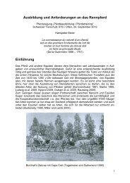 Ausbildung und Anforderungen an das Rennpferd - Iena