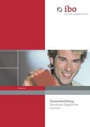 Teamentwicklung - Ibo Software GmbH