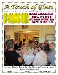 Central Valley Corvettes - September 2015 Magazine