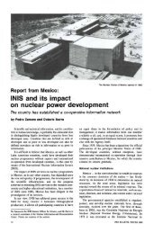 INIS and its impact on nuclear power development - IAEA
