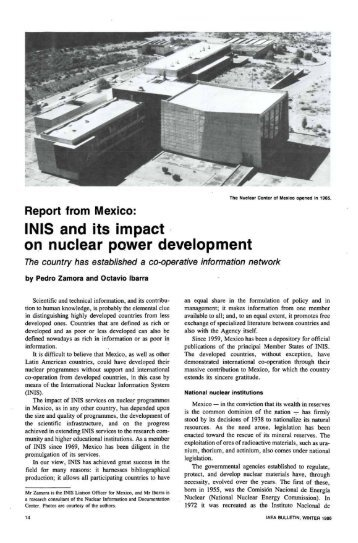 the impact of nuclear power in The nuclear power plant's construction and operation in 2008, fennovoima  implemented an environmental impact assessment (eia) to assess the impacts of  the.