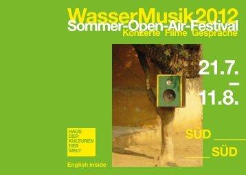 Programmheft Wassermusik 2012 PDF / 2542 kb - Haus der ...
