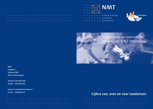 Terugkijken en vooruitzien bij tien jaar NMT-Peilstations