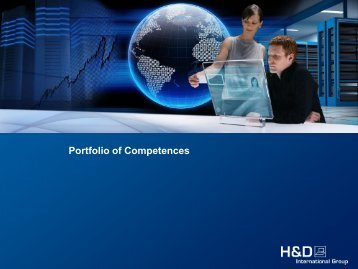 Portfolio of Competences - Hönigsberg & Düvel Datentechnik GmbH