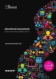 educational assessments