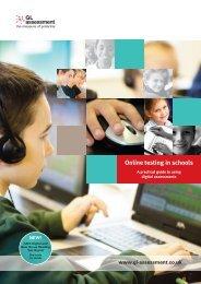 Online testing in schools