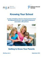 Getting to Know Your Parents - GL Performance
