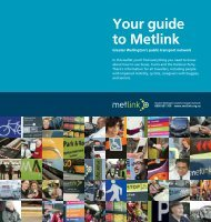 Your guide to Metlink