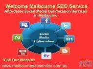 Social Media Management | Social Media Optimization Melbourne