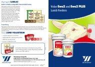 Volac Ewe2 and Ewe2 PLUS Lamb Feeders