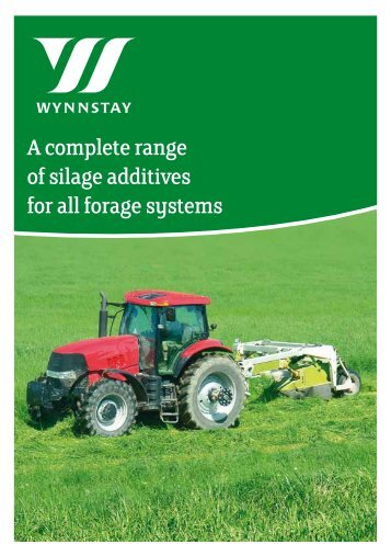 of silage additives for all forage systems