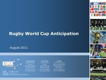 Rugby World Cup Anticipation