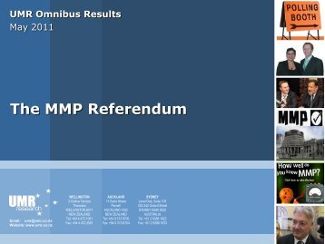 The MMP Referendum