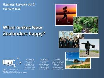 Zealanders happy?