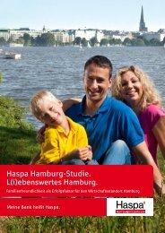 Haspa Hamburg-Studie. L(i)ebenswertes Hamburg. - HWWI