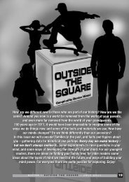 How are we different now to those who are part of our history? How ...