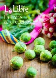 """publication gratuite de """"la libre belgique"""" - La cuisine à quatre mains"""