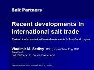 international salt trade