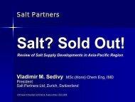 Salt? Sold Out!