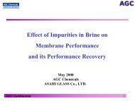 Effect of Impurities in Brine on Membrane ... - Salt Partners