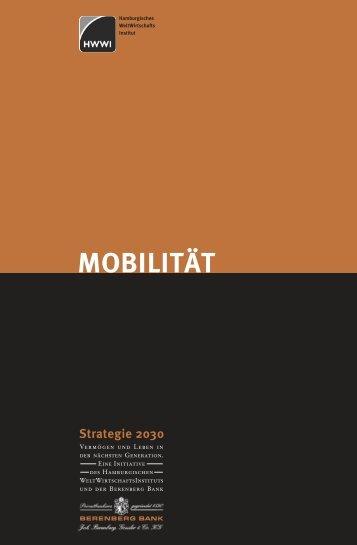 Strategie 2030 - Mobilität - HWWI