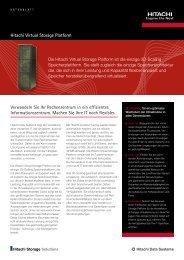 Hitachi Virtual Storage Platform - Hitachi Data Systems