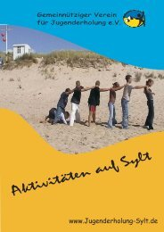 Flyer - Gemeinnütziger Verein für Jugenderholung e.V.