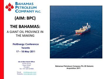 (AIM BPC) THE BAHAMAS