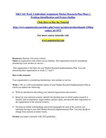 marketing research and segmentation problem essay