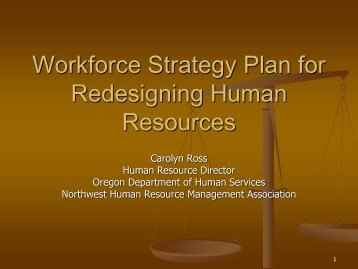 T05) Workforce Strategy Plan for Redesigning Human Resources