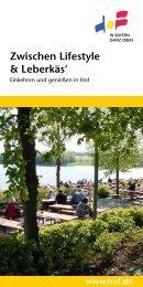 Zwischen Lifestyle & Leberkäs' - Stadt Hof