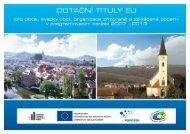 Dotační tituly EU pro obce [PDF, 937.54KB]