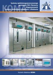 Systemy opóźnionego/przerywanego garowania CDS i Recovery ...