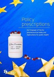Policy prescriptions