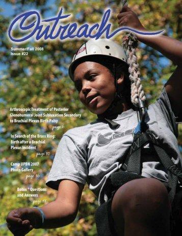 Fall 2008 Outreach (PDF) - United Brachial Plexus Network