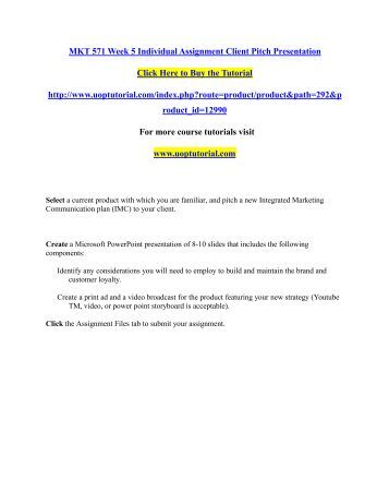 Marketing research paper kudler fine foods virtual