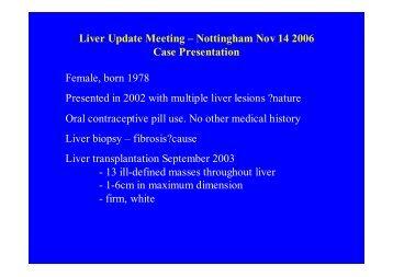 Presentation in pdf format - Virtual Pathology at the University of Leeds