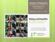 Dialog und Empathie