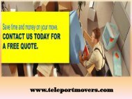 Commercial Movers Texas