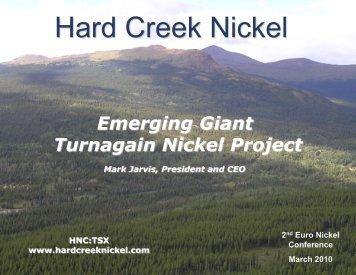 Hard Creek Nickel