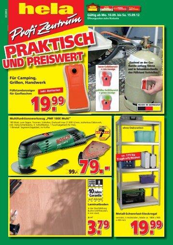 + 10% gratis! - hela Profi Zentrum